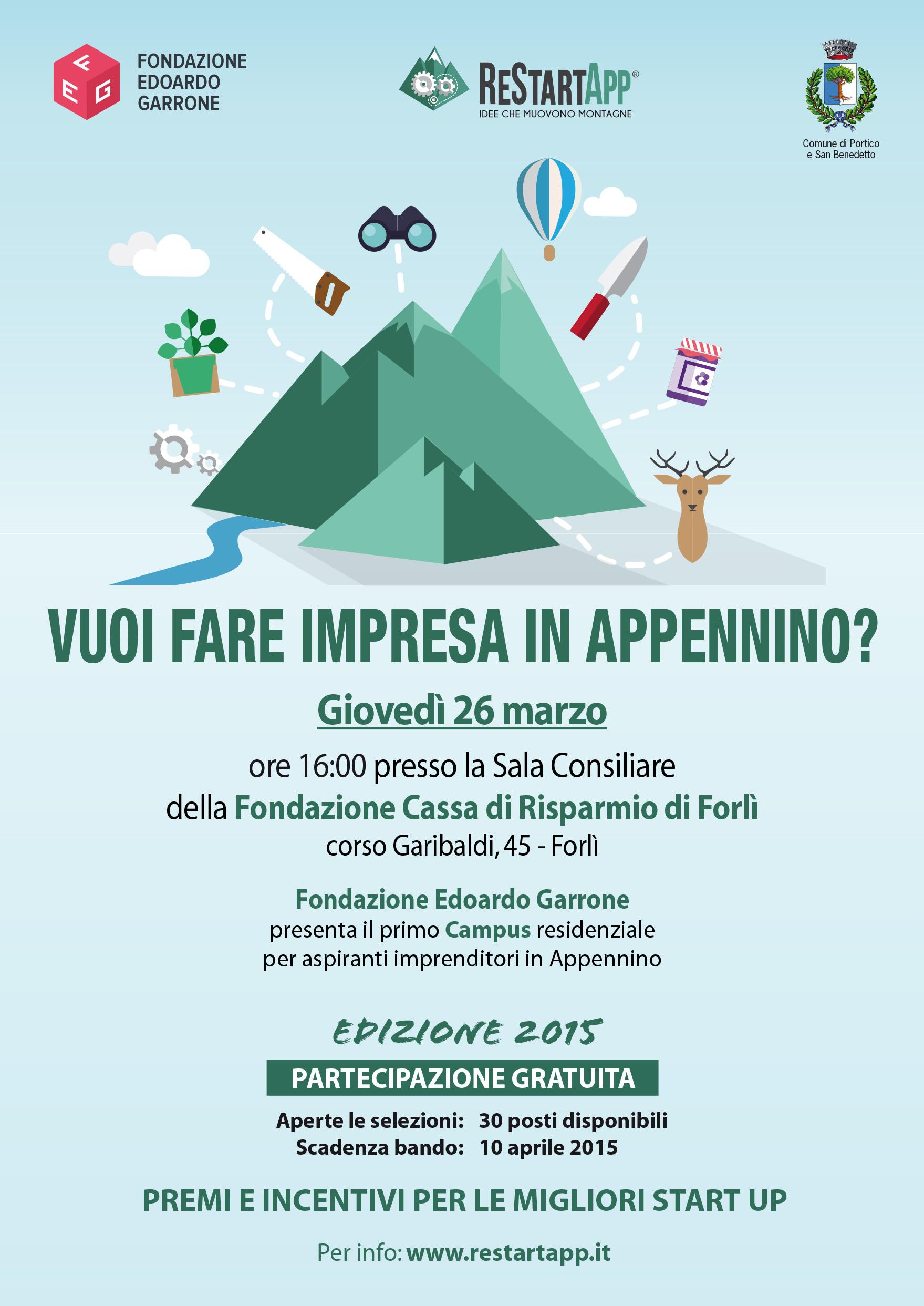 ReStartapp Forlì volantino A5_x Stampa